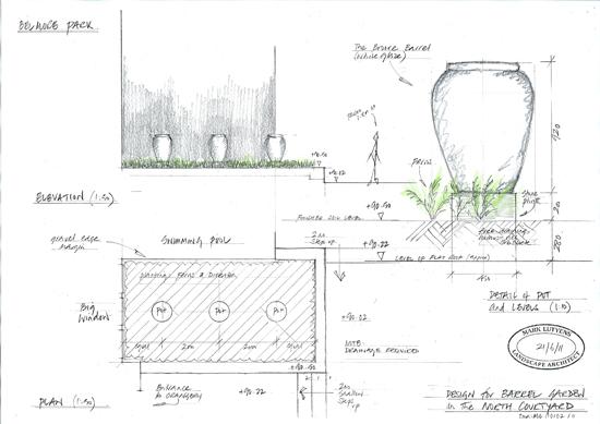 sketch design for planters