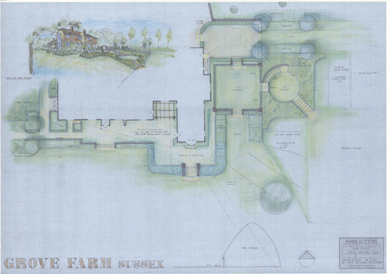 Grove Farm Sussex plan
