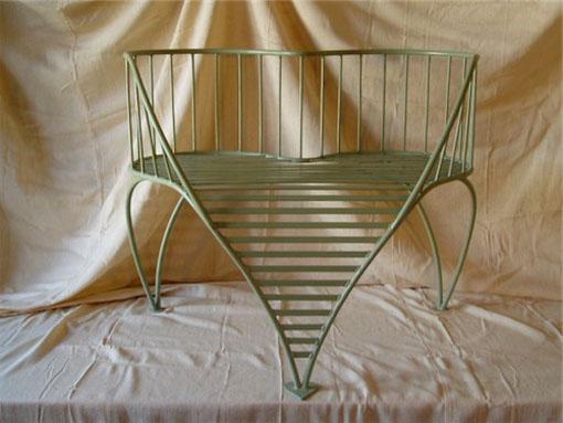 green love seat