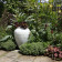 White urn and garden design planting thumbnail