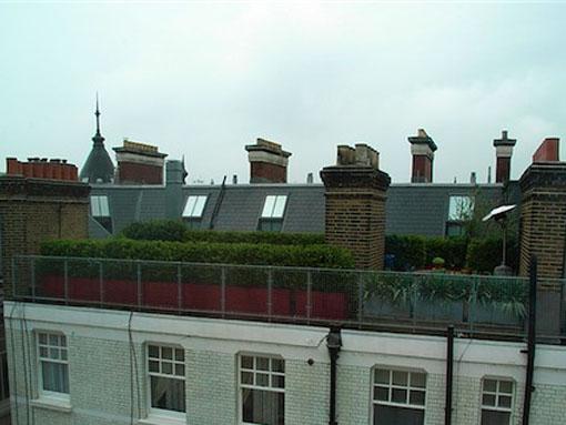 London Roof garden chelsea