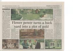 Times article 1998 Mark Lutyens Notting Hill garden