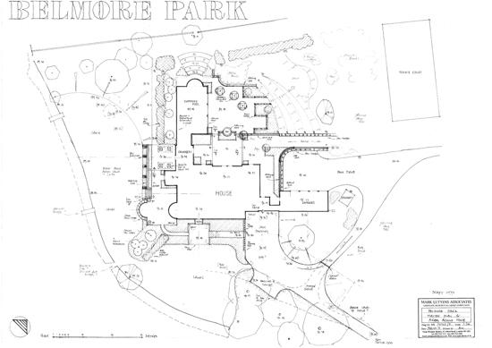 Belmore park upham master plan