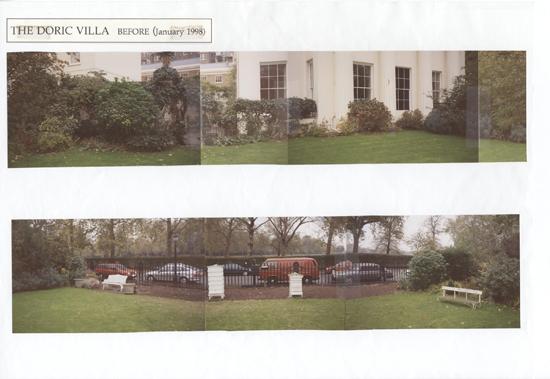 Doric Villa before