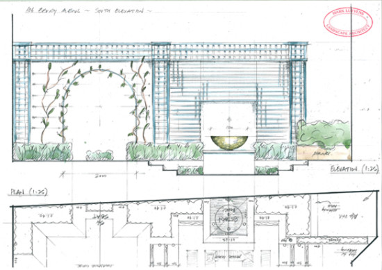 water feature design chelsea
