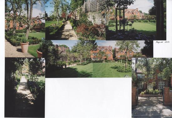 Frognal Hampstead rear garden