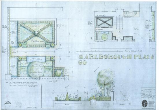 Marlborough Place plan
