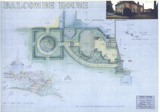Balcombe House Sussex plan