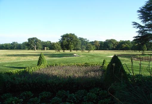 Clarendon Park view of park