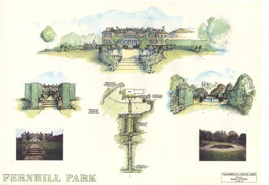 Fernhill Park Ascot plan