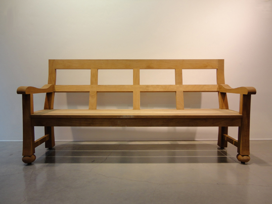 Mark Lutyens Bench Front view