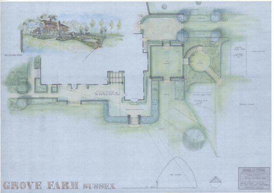 Grove Farm Sussex plan
