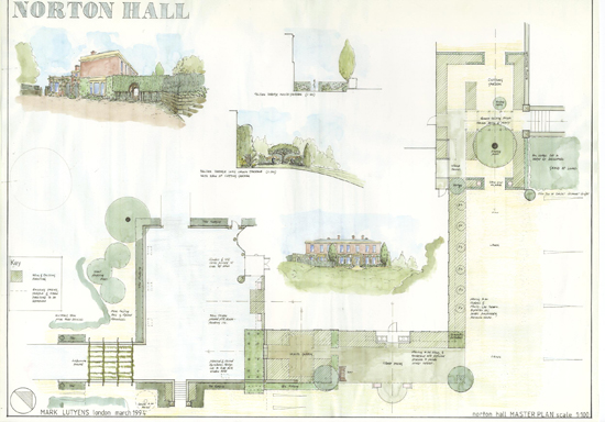 Norton Hall plan