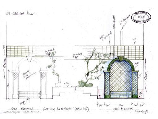 trellis sketch design london
