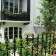 front garden design with urn london thumbnail