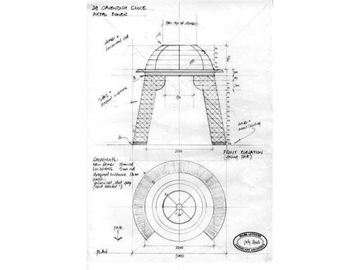 garden feature structure bower
