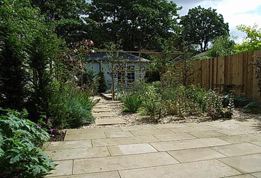 paved gravel garden Mile End